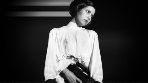 Carrie Fisher Princess Leia XXVII by Dave-Daring