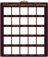 PP: 25 expressions challenge by Betachan
