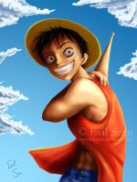Monkey D. Luffy by Evil-Siren