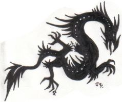 Dragon Tattoo 4 by Gothie666
