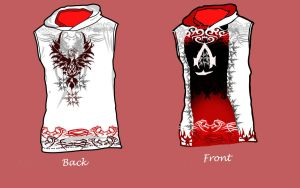 My assassin hoodie design 2 by Asoq