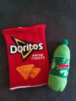 The Most MLG plushies (Doritos and Mountain Dew) by Quantico