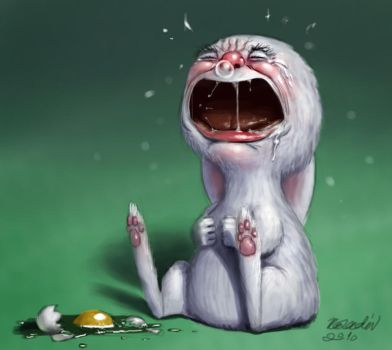 Crying by K-Bladin
