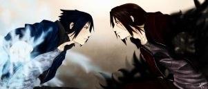 Forgive me Sasuke... ...It ends with this! by 0-Marimo-0