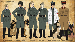 1942 - Character Cast by BlueHunter