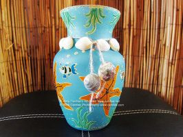 Tropical vase by cardiae