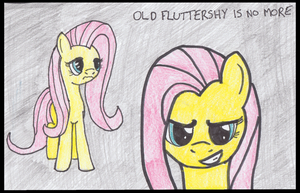 Old Fluttershy is No More by brokenhero0409