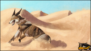 [AT] The king of the desert by Nepook