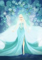 Queen Elsa by ivoice