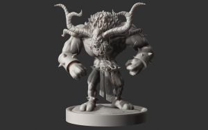Alistar Zbrush Wax by Dack3d