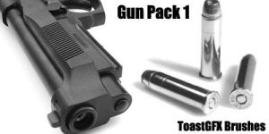 Gun Brush Pack 1 by toastgfx
