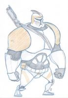 Big Clone Trooper by e4animation