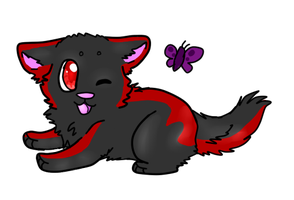 chibi gift_sketchy-wolves by P0CKYY