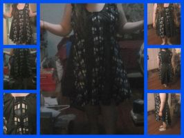Doctor Who Tardis print dress. by AxylKatastrophe