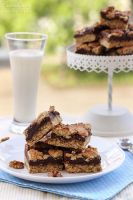 Oatmeal fudge bars by kupenska