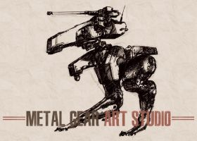 Metal Gear Art Studio - Gekko 1 by SolidAlexei