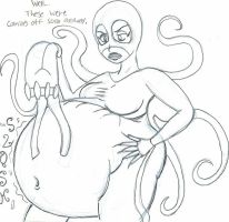 FAT Octopus by MildConcussion