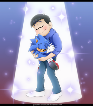 Karamatsu and Monty 2 by Feneksia-Creations