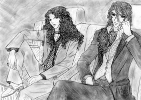 Lestat and Armand- Kino by SeraphimTenshi