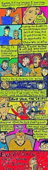 Captain Kirk has a Favourite. by shazam26