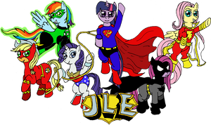 Justice League of Equestria by Midnight-Cobra