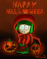 Red Riding Kyle - Halloween [ GIF ] by Torivic