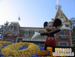 Disneyland Flower Bed by unknowninspiration