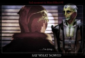 Sad moments in Mass Effect 8 by maqeurious