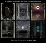 Exclusive AC-backgrounds by christel-b
