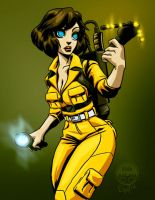 April O Neil Ghost Buster - Commission by EryckWebbGraphics
