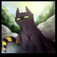 toothless disapproves it by BlOtBlOoD