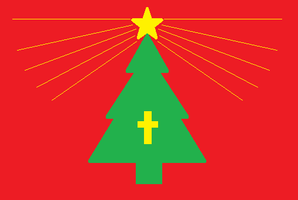 Flag of the Republic of Christmas by kyuzoaoi