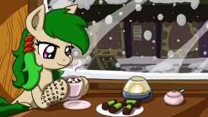 Ode, Hot Chocolate, and Punsch-rolls by LateCustomer