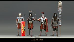 Romans troops by haloband