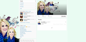 Twitter Set - Carrie Underwood by myfremioneheart