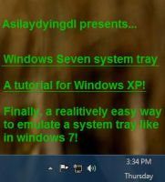 7 system tray for XP tutorial by asilaydyingdl