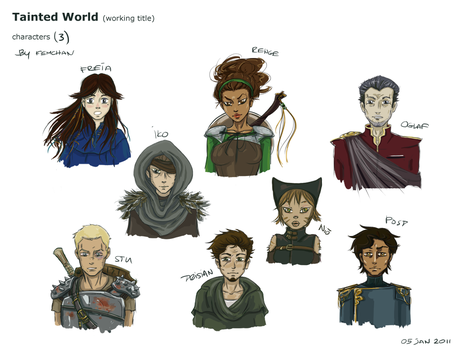 TW characters by Femchan