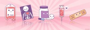 Cute Medical Icons by jiggly