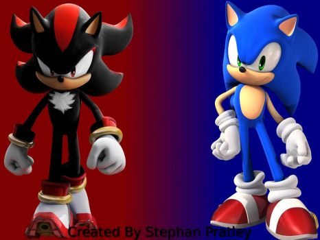 Shadow And Sonic by stephan262