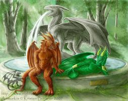 Jenendra Commission Three by thypentacle
