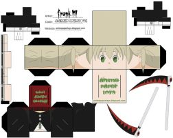 maka - soul eater cubee by animepapertoys