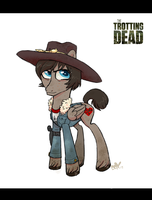Trotting Dead - Carl Grimes by PumpkinHipHop
