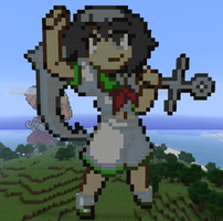Captain Murasa in Minecraft by Noob4u