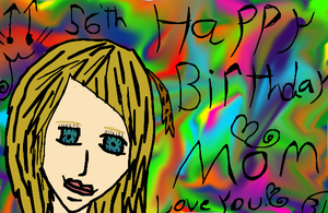 To My Mom by Art-game-lover