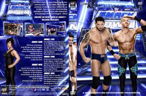 WWE SmackDown August 2013 DVD Cover by Chirantha