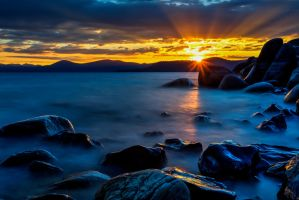 Tahoe Mid Summer Evening by sellsworth