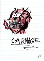 Carnage Doodle by THE-R4GE