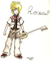 water color Roxas by rinweb
