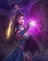 Warcraft Cover 'Dungeon' by PRDart