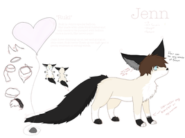 New Jenn ref WIP by Dudeitsdani